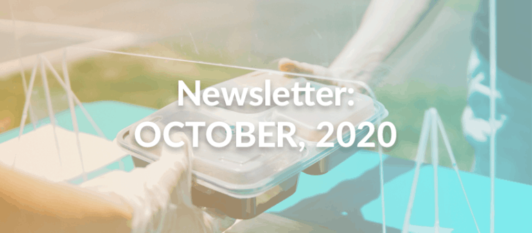 Newsletter October, 2020 - Header Image